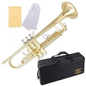 Glory Brass Bb Trumpet with Pro Case