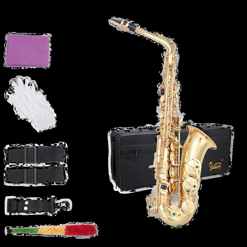 Glarry Student Alto Eb E-flat Saxophone