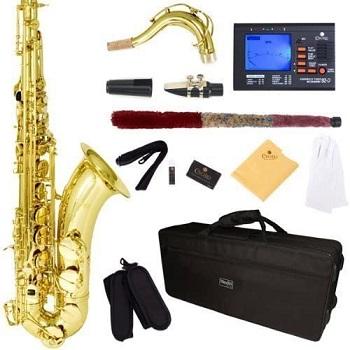 Mendini by Cecilio B-Flat Tenor Saxophone