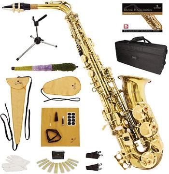 Mendini by Cecilio E-Flat Alto Saxophone
