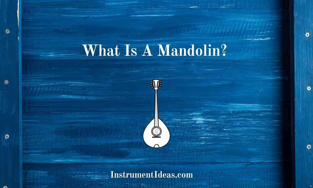 What Is A Mandolin