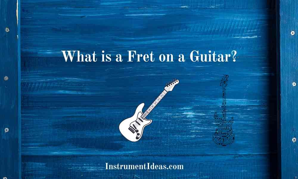 what is a fret on a guitar