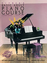 Alfred's Basic Adult Piano Course Lesson Book, Level One (BK 1)