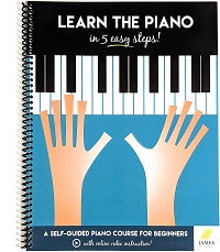 Learn The Piano in 5 Easy Steps