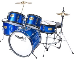 Mendini by Cecilio 5-Piece Kids Drum Set