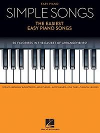 Simple Songs - The Easiest Easy Piano Songs Paperback