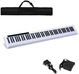 Costzon 88-Key Portable Digital Piano