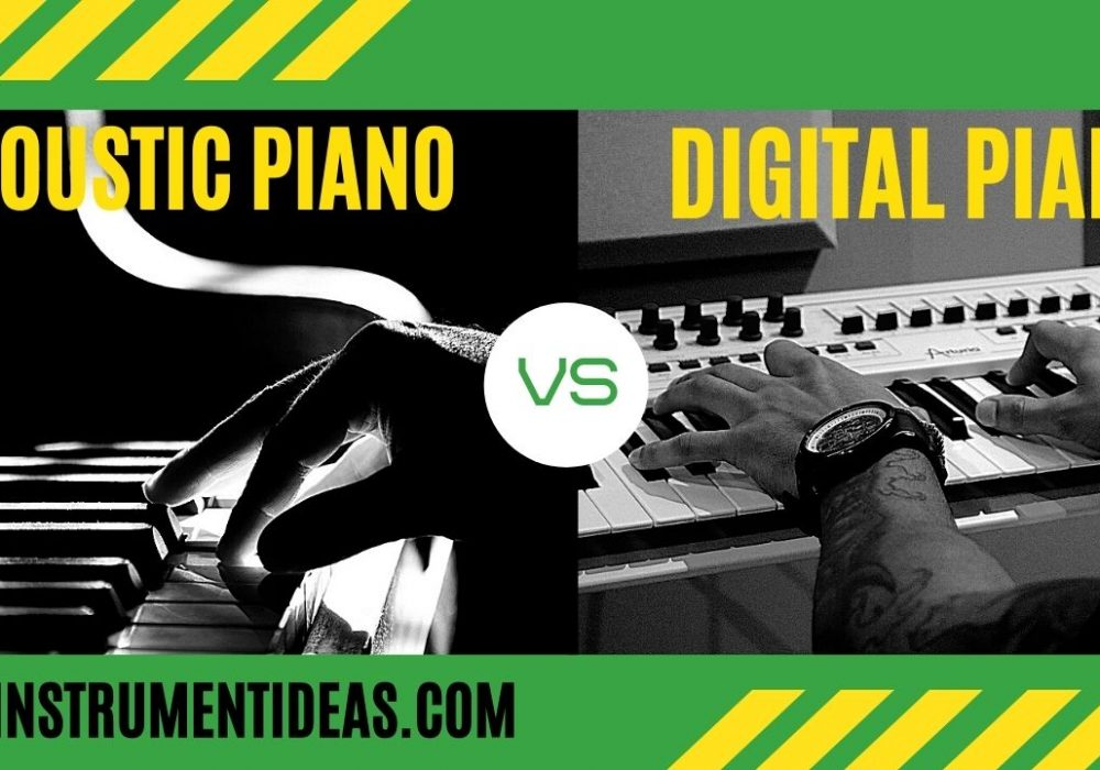 Digital Piano vs. Acoustic Piano