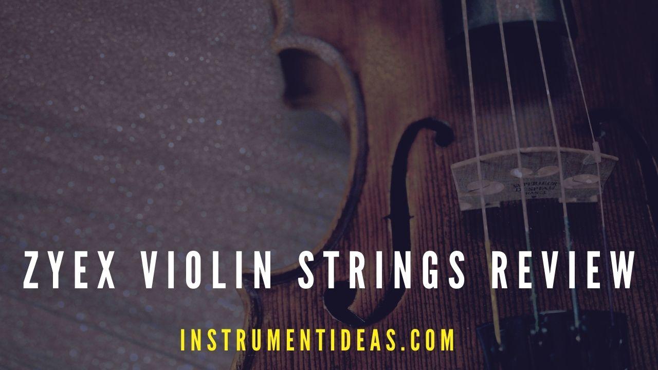 zyex violin strings review