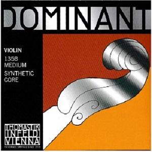 Thomastik Dominant Violin String Set - Medium Gauge - Steel Ball-End E