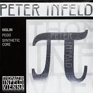 Thomastik Peter Infeld Violin Strings Set with Platinum E