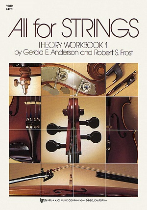 84VN - All For Strings Theory Book 1 Violin