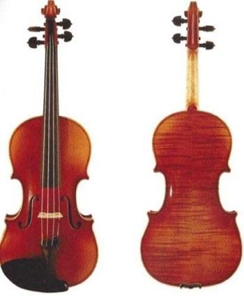 D Z Strad Violin 120 with Case, Bow, Shoulder Rest, and Rosin