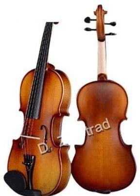 D Z Strad Violin Model 100 with case, shoulder rest, bow, and rosin